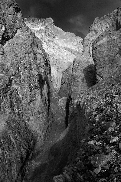 Death Valley Narrows BW