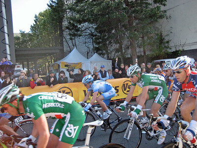 2007 Tour of California Stage 1 Finish Line