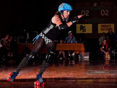 Sac City Rollers - Honky-Tonk Hoedown! 4/9/2011