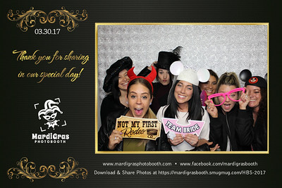 Photo Strips from Ancaster Wedding Show March 2017