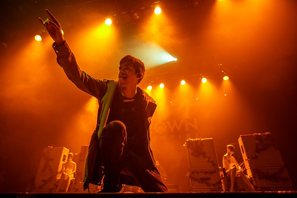 Crown the Empire @ Metropolis 2015-10-06