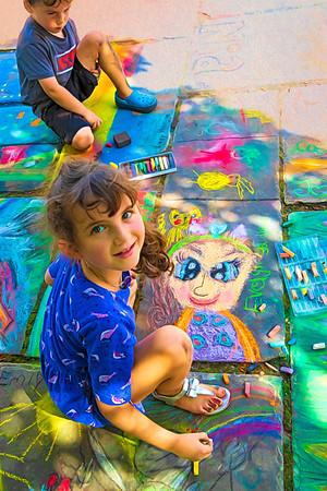 Chalk Festival Art Museum 2018