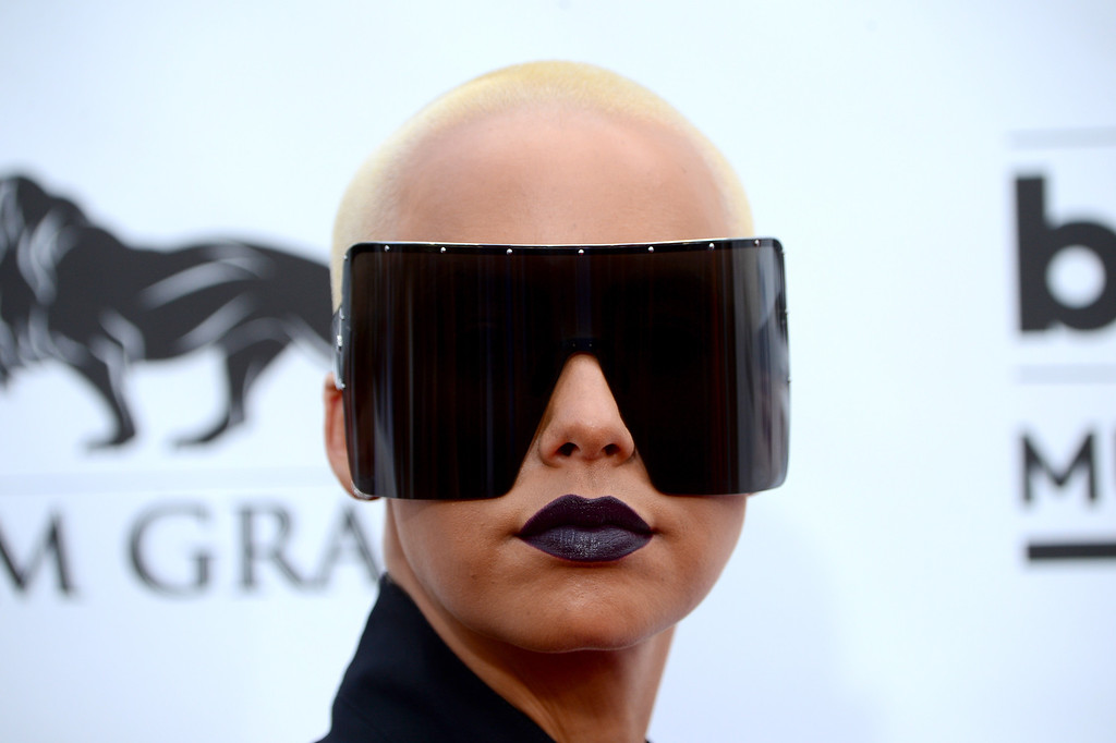. Model Amber Rose attends the 2014 Billboard Music Awards at the MGM Grand Garden Arena on May 18, 2014 in Las Vegas, Nevada.  (Photo by Frazer Harrison/Getty Images)