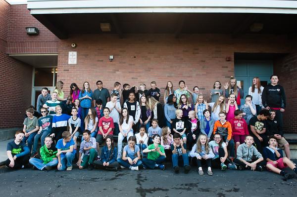 6th Grade Class, 2015-16 School Year