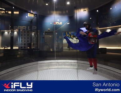 Art Goes Indoor Skydiving