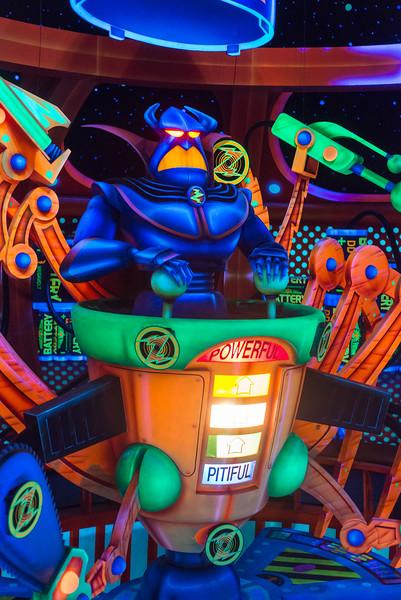 Buzz Lightyear Zurg - Magic Kingdom Walt Disney World