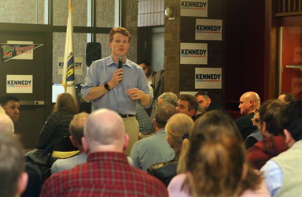 Joe Kennedy III in Lowell 011120