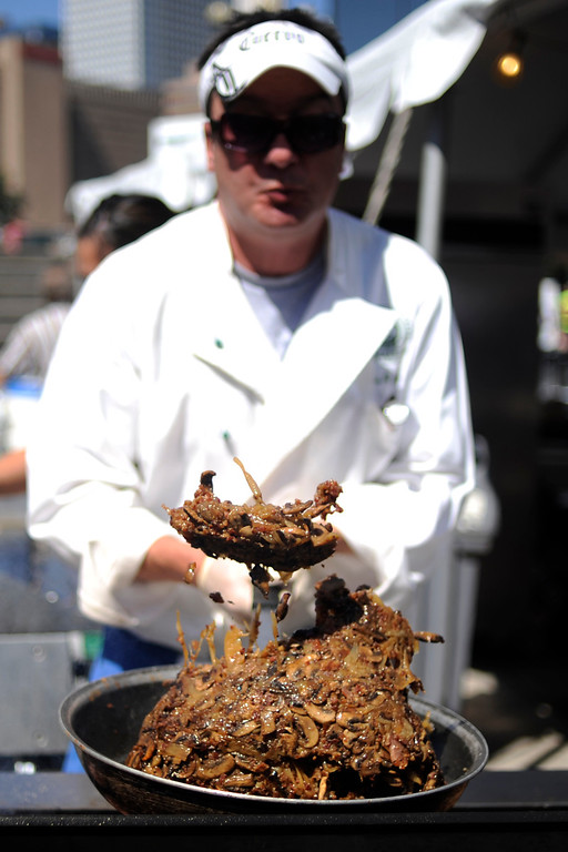 . during the Taste of Colorado in Civic Center Park on Sunday, September 4, 2011. AAron Ontiveroz, The Denver Post