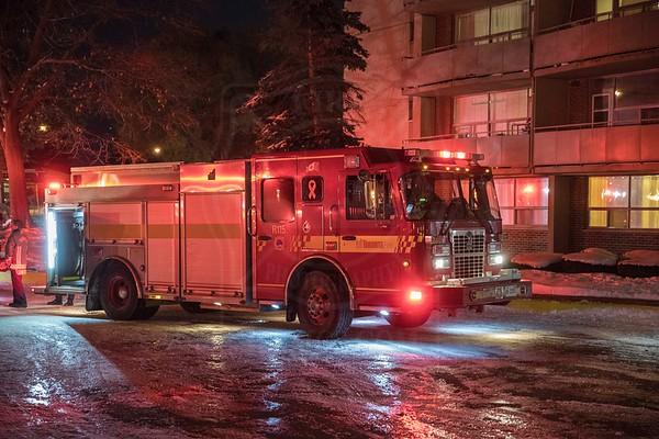 November 12, 2019 - 2nd Alarm - 335 Van Horne Ave.