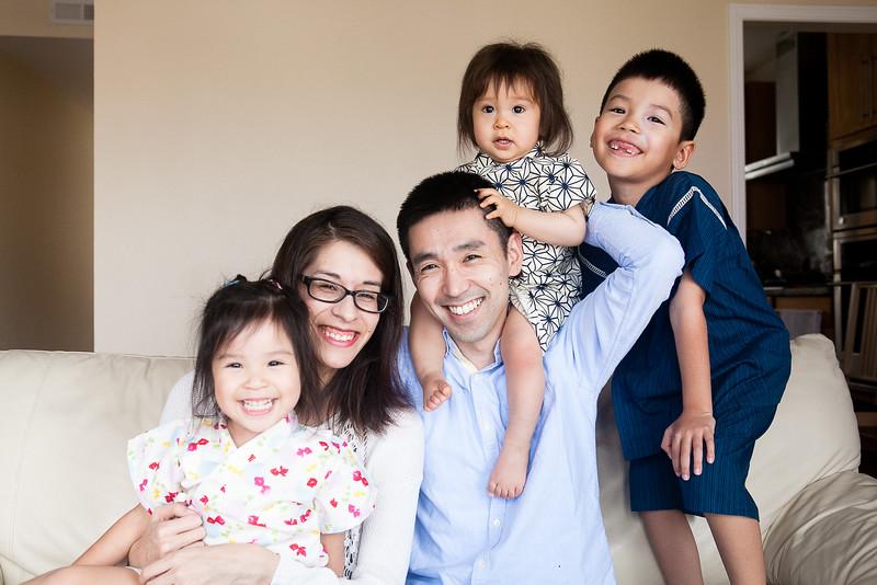 Nonaka Family 2015