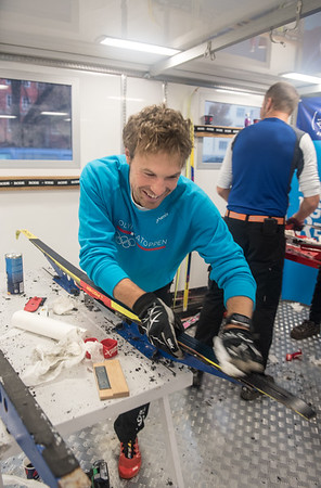 Skilandslagets smøreteam-Astrid Uhrenholdt Jacobsen  og Skattkammeret 06.11.15