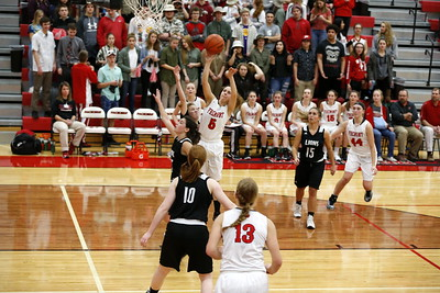 Girls Varsity Basketball - 1/12/2018 Newaygo