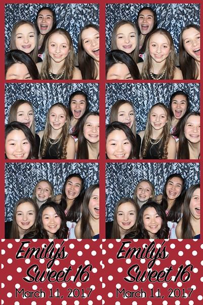 Emily's Sweet 16