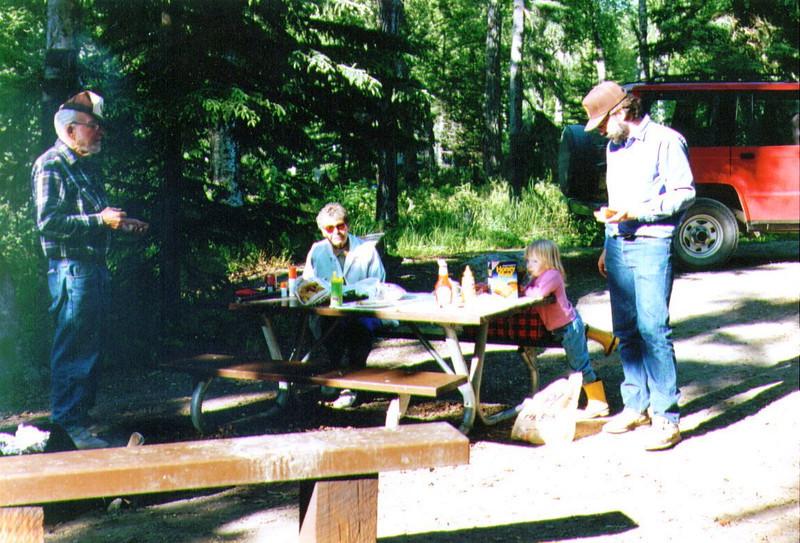 Earl & Bo Krenz, Alina & Dave, Capt. Cook, 6-19-1995 .jpg