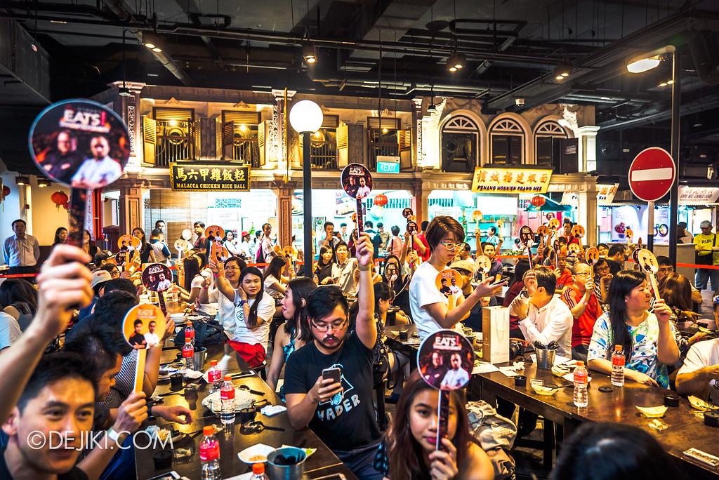 Resorts World Sentosa - RWS Street Eats Showdown - Voting from the Judges
