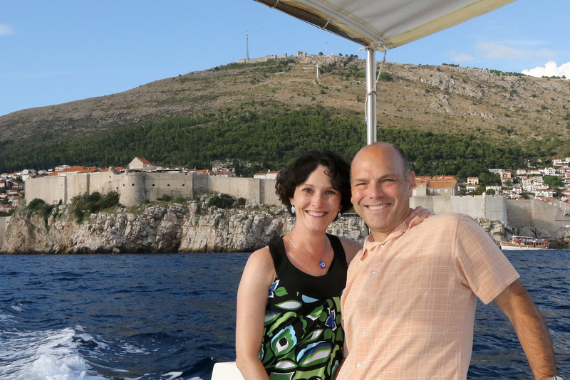 This boat trip gave us a really nice view of the walls from the Adriatic - Dubrovnik