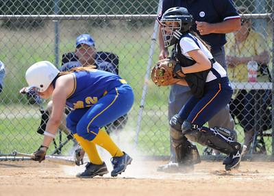 Delmar Varsity Softball vs C.R.