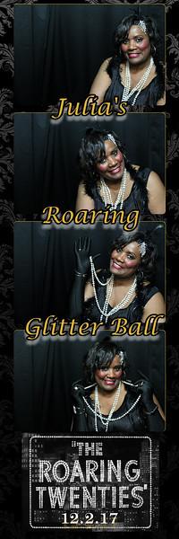 12.02.17 Julia's Roaring Glitter Ball