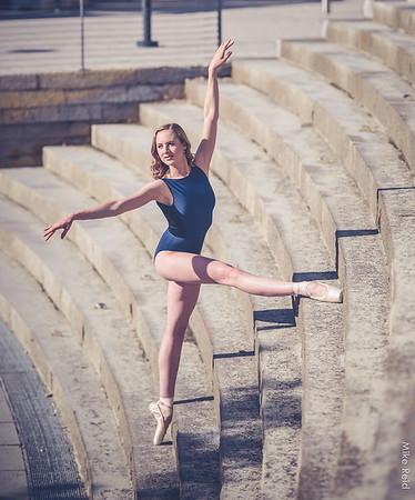 Lauren Wattenburg in SLC...U of U ballerina