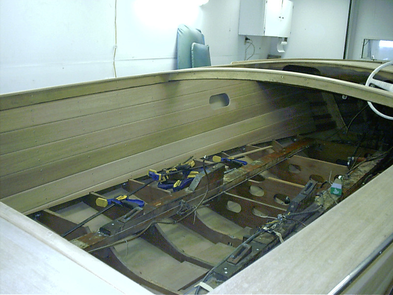 Port cocpit liner fit and installed.