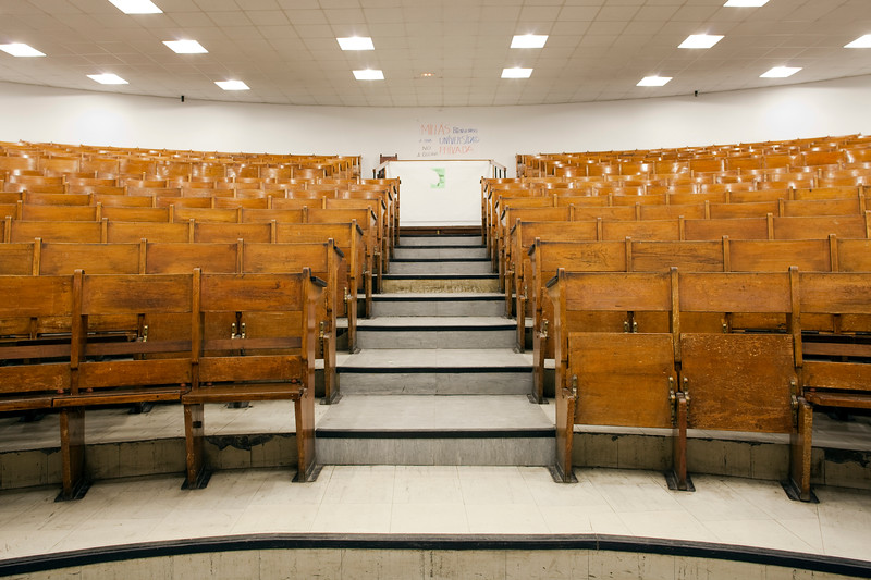 Main lecture theater, University of Seville, Spain
