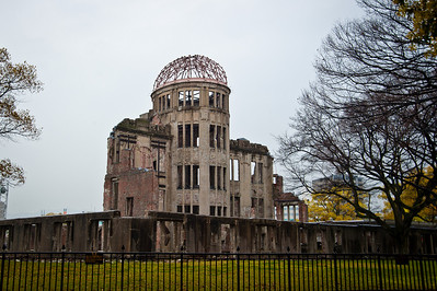 Peace Park, Hiroshima - April 9, 2010