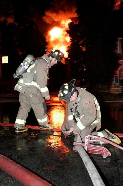August 5, 2009 - 4th Alarm - Danforth Ave / Patricia Dr