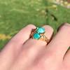 Vintage Bypass Gemstone Ring 0