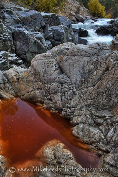 Big Falls, South Fork Payette, Idaho.