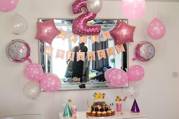 Olivia 2nd Birthday