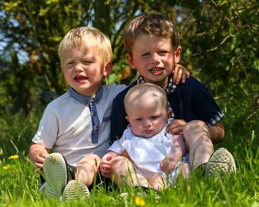 Summer Portrait Shoot - Forsyth Family
