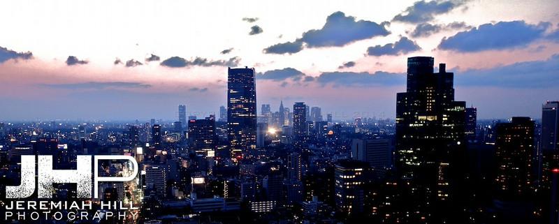 """Tokyo Cityscape Dusk #1"", Tokyo, Japan, 2010 Print JAP16-2489V3"