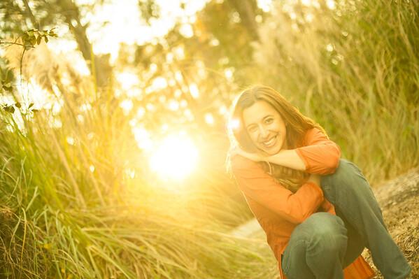 Jessica sun Flare Portraits
