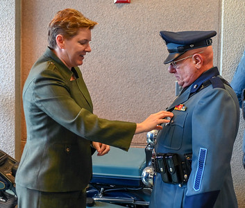 Trooper Richard Zucco Badge #1 Pinning - 03.27.2019