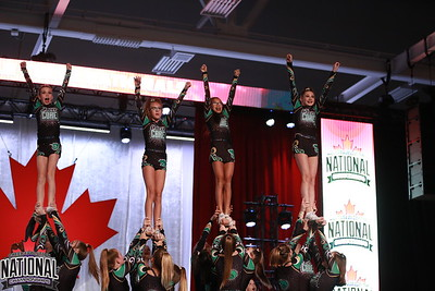 CheerCore  Junior Gold - IASF Junior 3