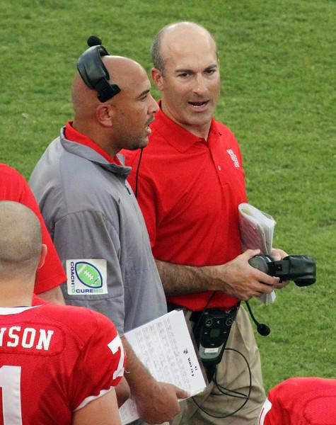 UH Coach Tony Levine and Jamie Christian discuss tactics