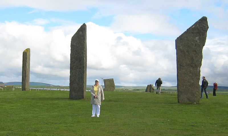 Standing Stones of Stennes, Orkney Islands, Scotland