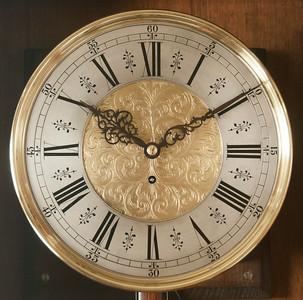 VR-511  Second Baroque Floorstanding Timepiece by Salfer