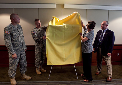 2012 06 14 Donation Ceremony of Original Art to USAARMS/MCoE