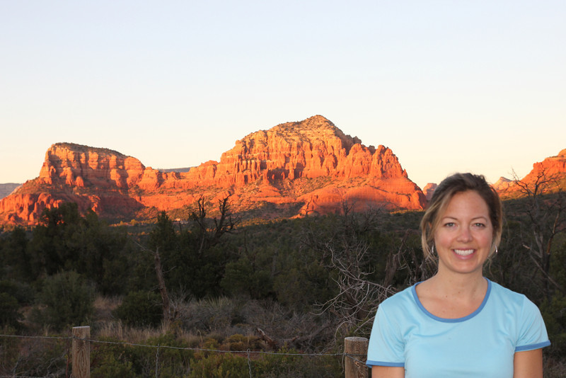 Sedona - Sedona's main attraction is its array of red sandstone formations.