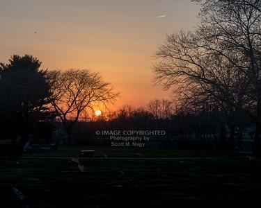 04/18/18 Cemetery Sunset