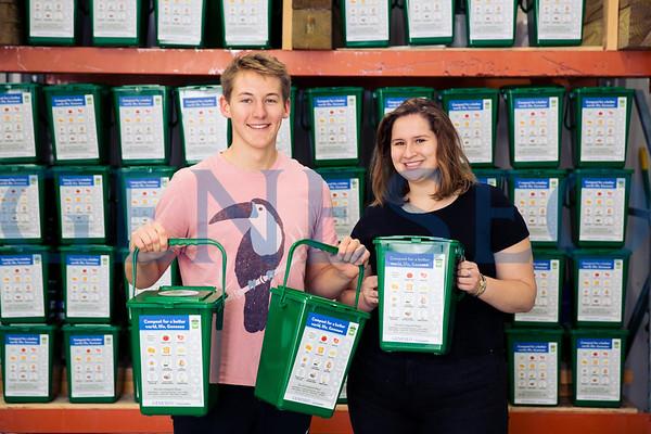 Alec Ritter and Clara Gallagher Compost Bins