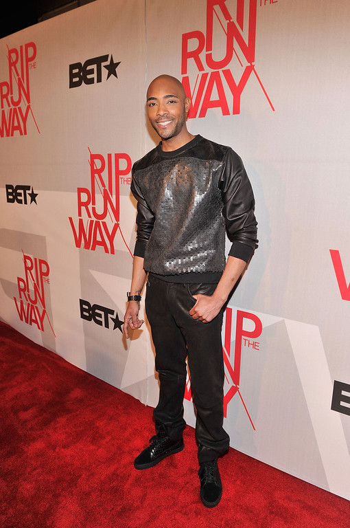. Model Dre King attends BET\'s Rip The Runway 2013:Red Carpet at Hammerstein Ballroom on February 27, 2013 in New York City.  (Photo by Stephen Lovekin/Getty Images for BET\'s Rip The Runway)