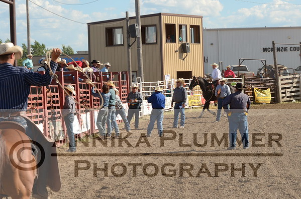 Watford City NDRA Rodeo - July 11, 2015