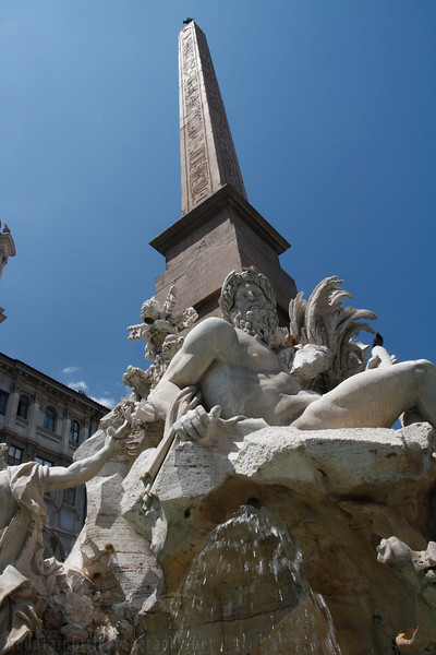 Fountain of the Four Rivers, Piazza Navona (Bernini)