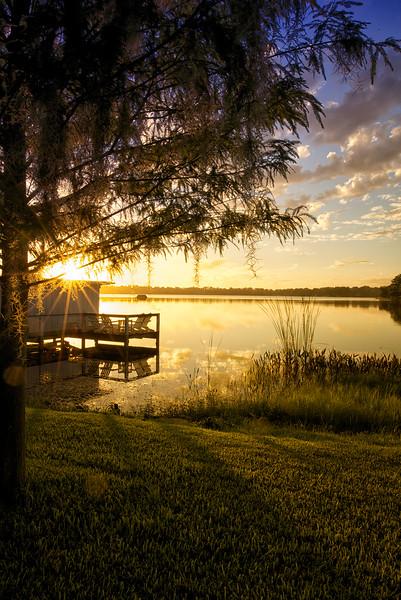 WPP2327  Sunrise on Lake Virginia