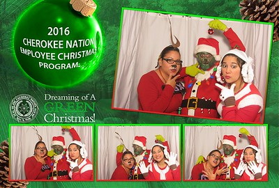 Cherokee Nation Employee Christmas 2016