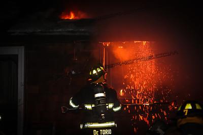 2nd Alarm House Fire - Brook Rd, Burrillville, RI - 1/10/17