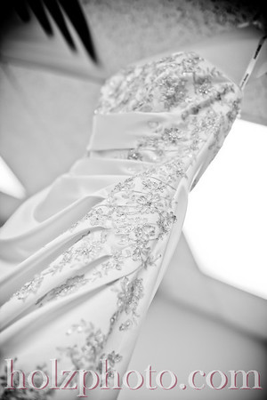 Mallory and Scott B/W Wedding Photos