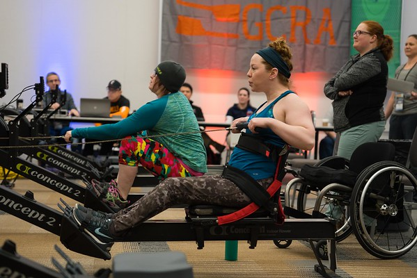 GCRA Indoor Rowing Challenge at the Arnold 2017